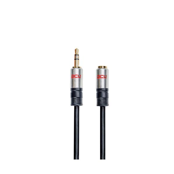 Dcu cable de audio conexión jack 3.5mm macho-hembra 1.5 metros