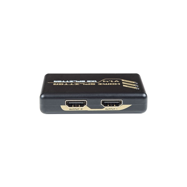 Dcu splitter multiplexor con 2 salidas hdmi compatible con resolución 4k y dolby digital