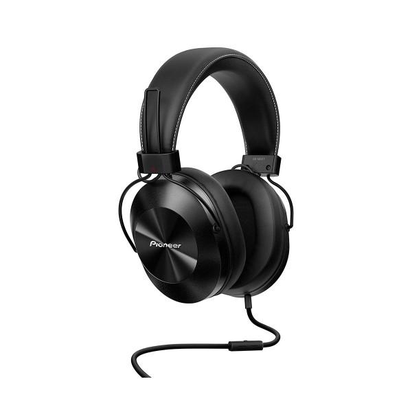 Pioneer se-ms5t negro auriculares audio de alta calidad con micrófono powerbass diseño en aluminio