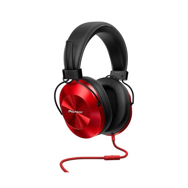 Pioneer se-ms5t rojo auriculares audio de alta calidad con micrófono powerbass diseño en aluminio