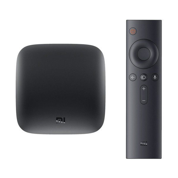 Xiaomi mi box s android tv 4k ultra hd con dispositvo para convertir el televisor en smart tv