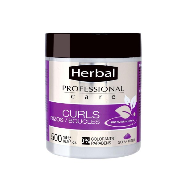 Herbal hispania professional care mascarilla curls 500ml