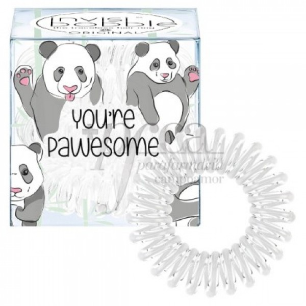 INVISIBOBBLE ORIGINAL PAWSOME 3U BLANCO