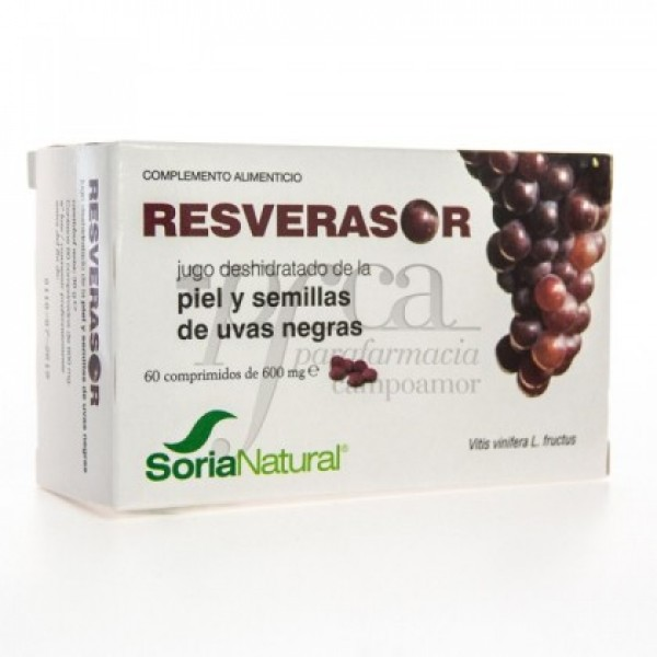 RESVERASOR 60 COMPS DE 600MG