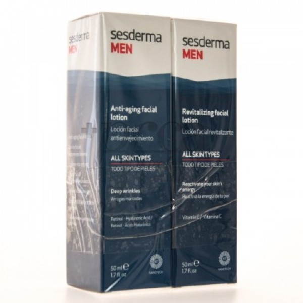 SESDERMA MEN REVITAL 50ML + ANTIAGING 50ML PROMO
