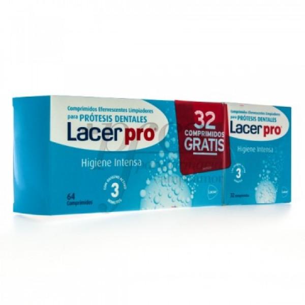 LACER PRO HIGIENE INTENSA 64 + 32 COMPS PROMO