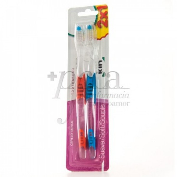 CEPILLO DENTAL KIN SUAVE 2X1 PROMO