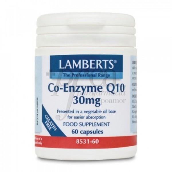 CO-ENZIMA Q10 30MG 60 CAPS