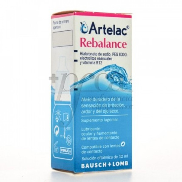 ARTELAC REBALANCE MULTIDOSIS 10ML