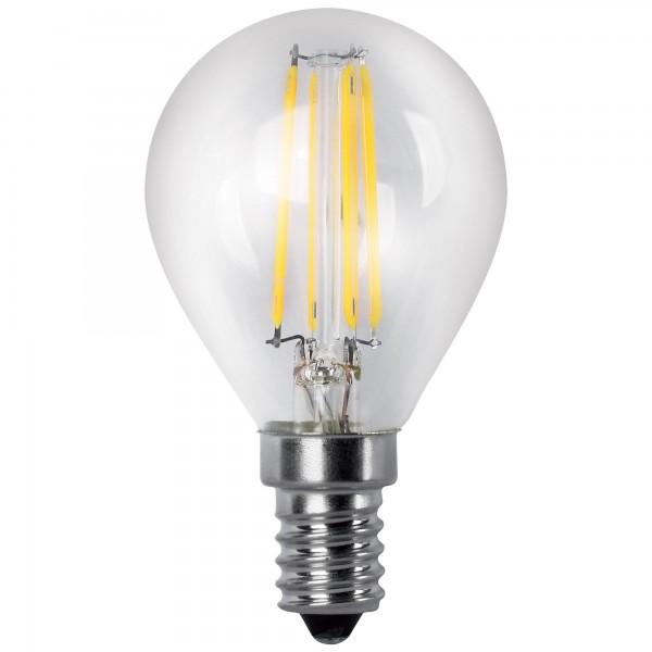 Bomb.led filament.esfer.clara e14 2w.ca