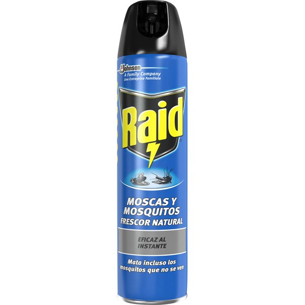 Raid insect moscas y mosquitos frescor natural 600 ml