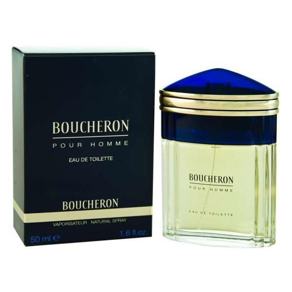 Boucheron men eau de toilette 50ml vaporizador