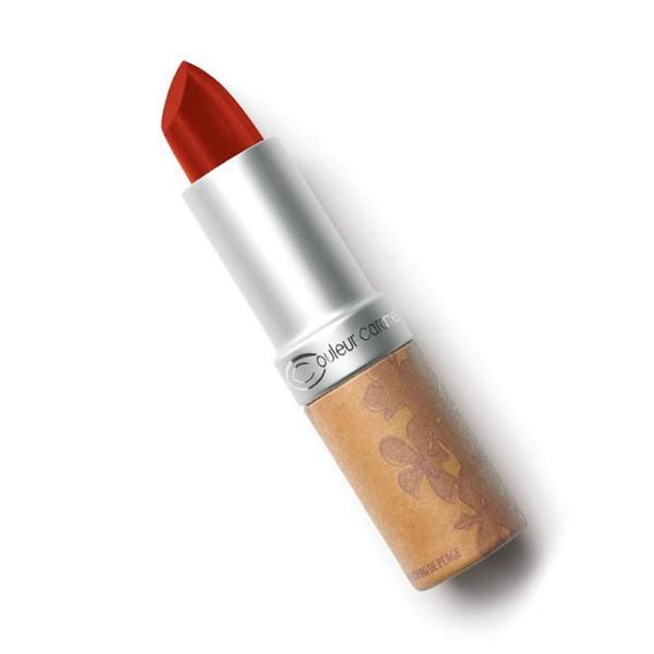Couleur caramel rouge a levres glossy barra de labios 263 deep red