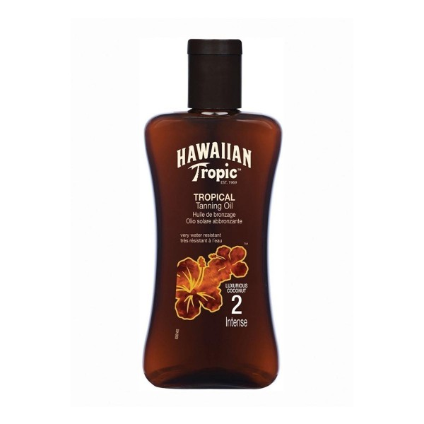 Hawaiian tropic tropical tanning oil intense 200ml