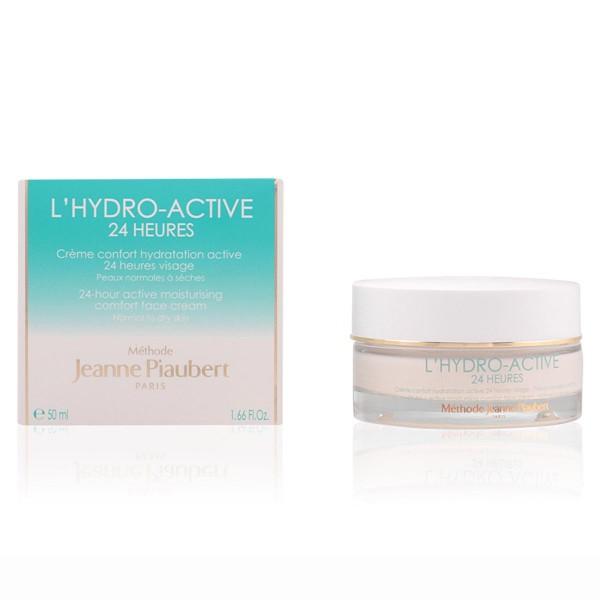 Jeanne piaubert l'hydro-active 24h moisturizing face cream normal to dry skin 50ml