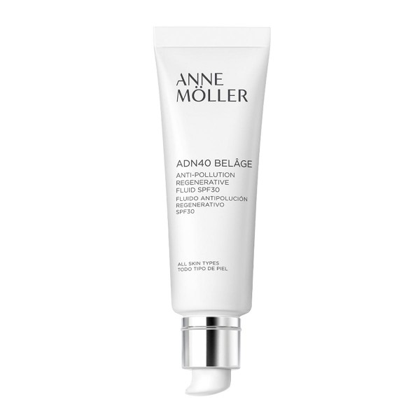 Anne moller adn40 belage anti-pollution regenerative fluid spf30 all skin types 50ml