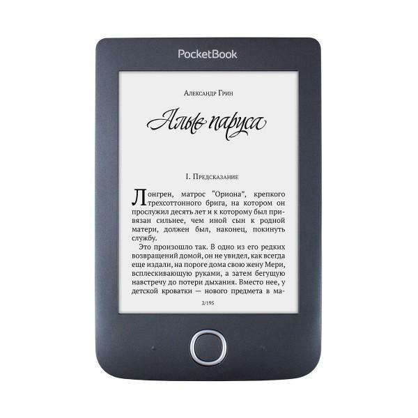 Pocketbook basic 3 negro e-book libro electrónico 6'' e ink 8gb ranura microsd wifi