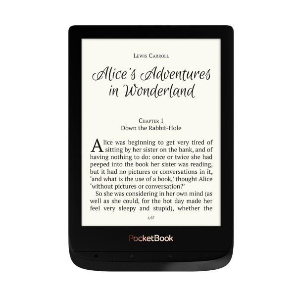 Pocketbook touch lux 4 negro e-book libro electrónico 6'' e ink cart hd 8gb ranura microsd wifi
