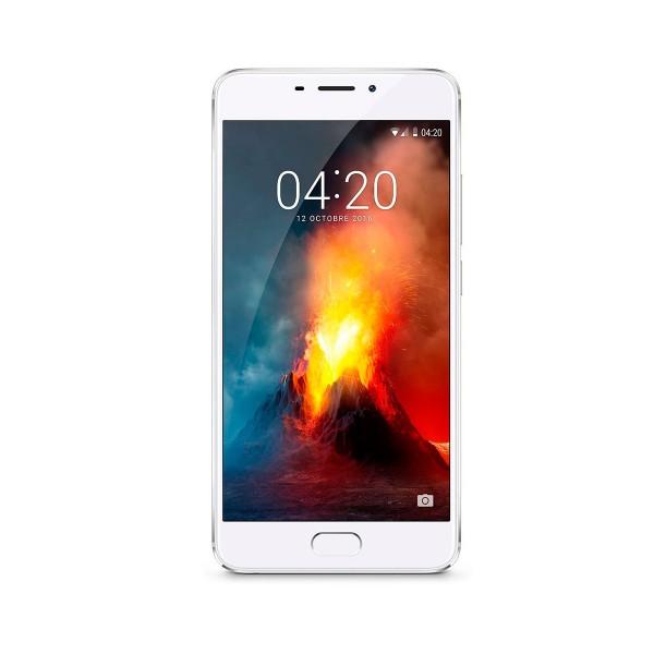 Meizu m5 note 16gb plata móvil dual sim 4g 5.5'' ips ltps/8core/16gb/3gb ram/13mp/5mp
