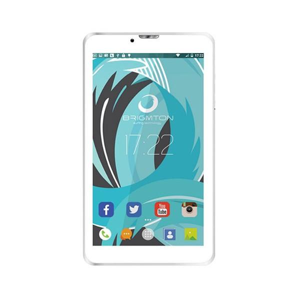 Brigmton btpc-ph6 blanco tablet 3g dual sim 7'' ips hd/4core/8gb/1gb ram/2mp
