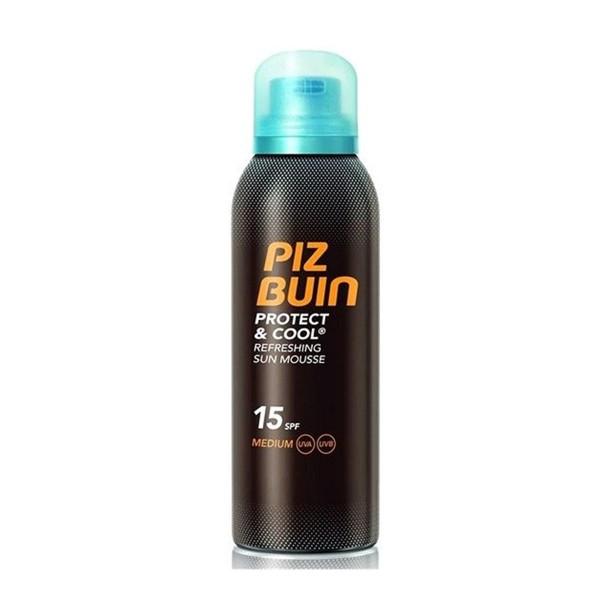 Piz buin protect&cool refreshing sun mousse spf15 medium 150ml