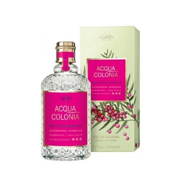 4711 acqua colonia eau de cologne pink pepper & grapefruit 170ml vaporizador
