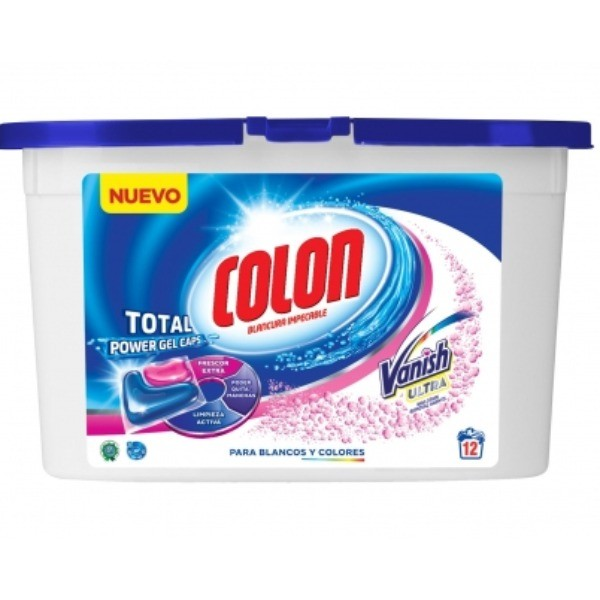 COLON Detergente CAPS. GEL VANISH 12 u