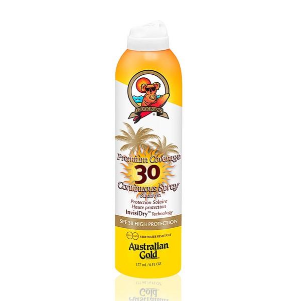 Australian gold premium coverage spray spf30 177ml vaporizador