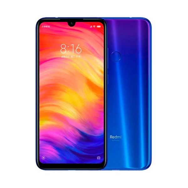 Xiaomi redmi note 7 azul móvil 4g dual sim 6.3'' ips fhd+/8core/128gb/4gb ram/48mp+5mp/13mp
