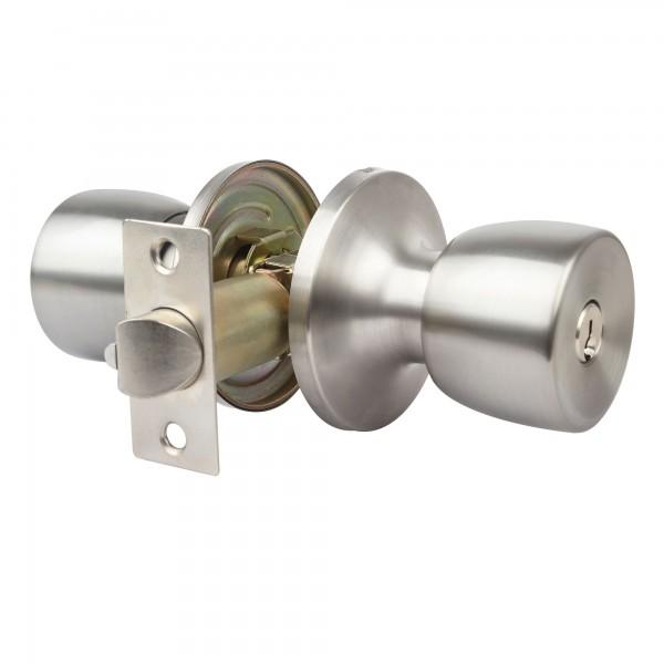 Pomo puerta handlock tub. ofic 60/70 c/m