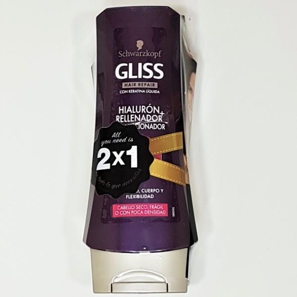 Gliss Hialurónico + Rellenador Acodicionador  2x1
