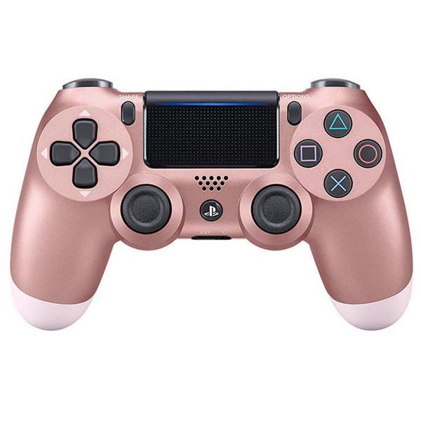 Sony dualshock 4 version 2 oro rosa mando inalámbrico para ps4