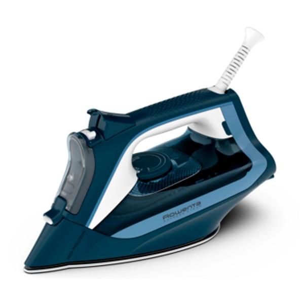 Rowenta dw4308 express steam azul plancha de vapor 2500w tecnología microsteam 300
