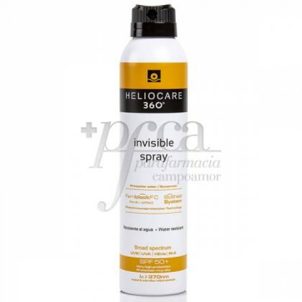 HELIOCARE 360º SPF50+ INVISIBLE SPRAY 200 ML