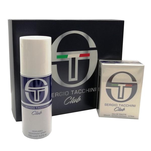 Sergio tacchini club eau de toilette 50ml + desodorante 150ml vaporizador