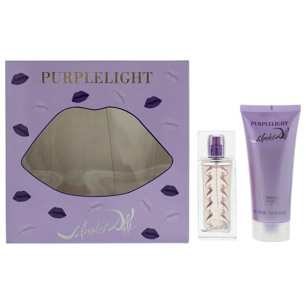 Salvador dali purplelight eau de toilette 30ml + locion corporal perfumada 100ml