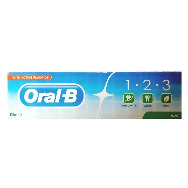 Oral b mint dentifrico 100ml