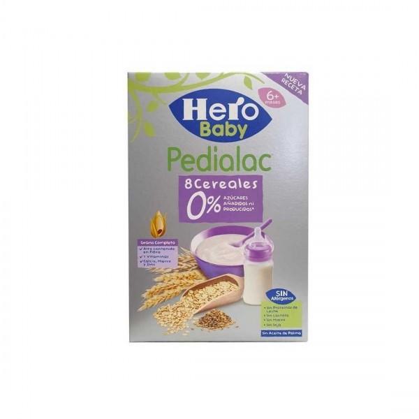 HERO BABY PEDIALAC PAPILLA 8 CEREALES 340 G